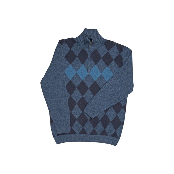 Diamond Half Zip Sweater Mens Sweater Native World