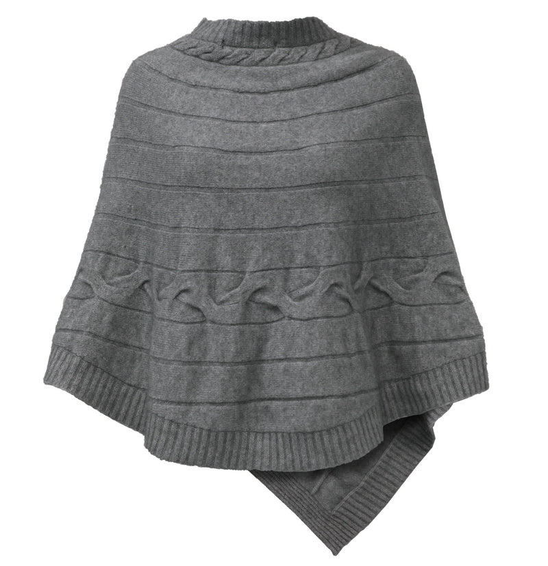 Cable Poncho NW Women Poncho Noble Wilde