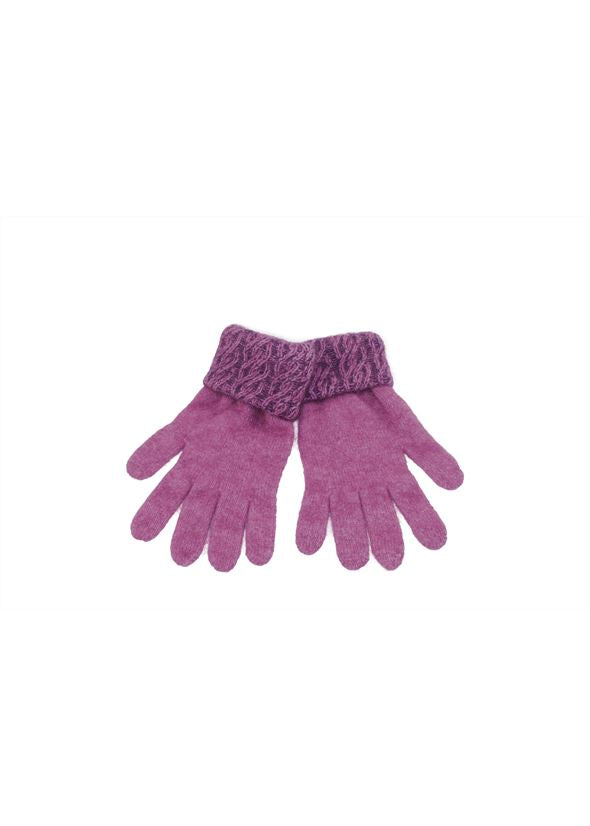 Two Tone Cable Gloves Gloves Koru