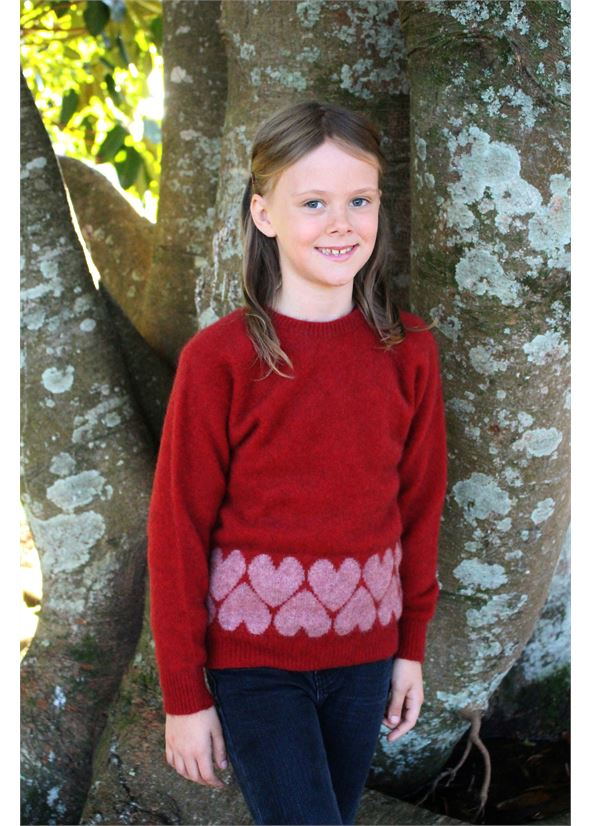 Heart Jumper Kids Jumper Lothlorian