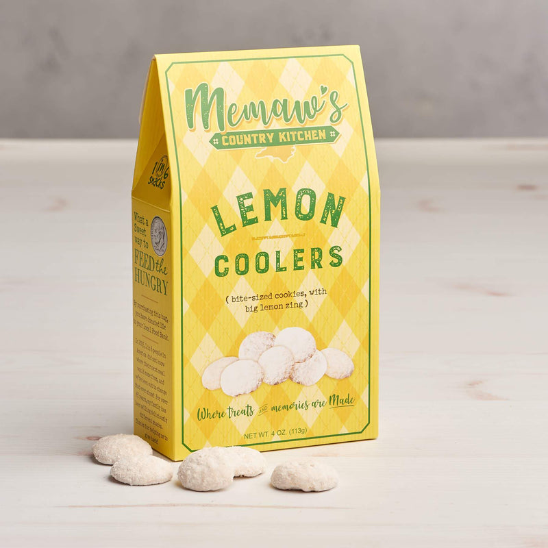 Memaw's Lemon Cooler Cookies (4oz Gift Box)