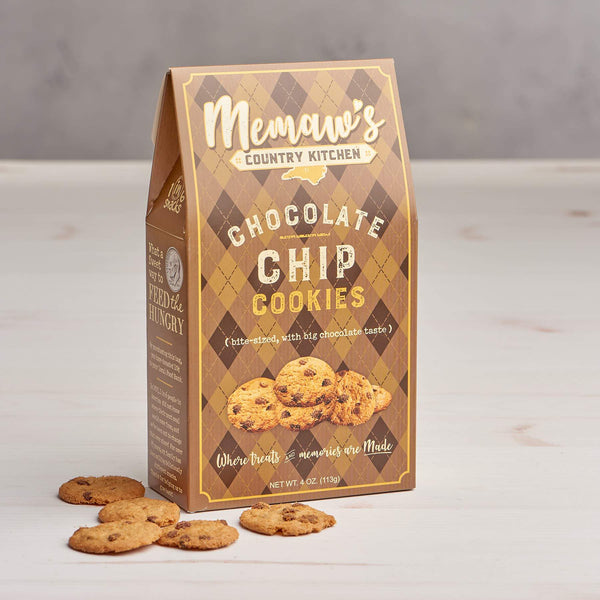 Memaw's Chocolate Chip Cookies (4oz Gift Box)