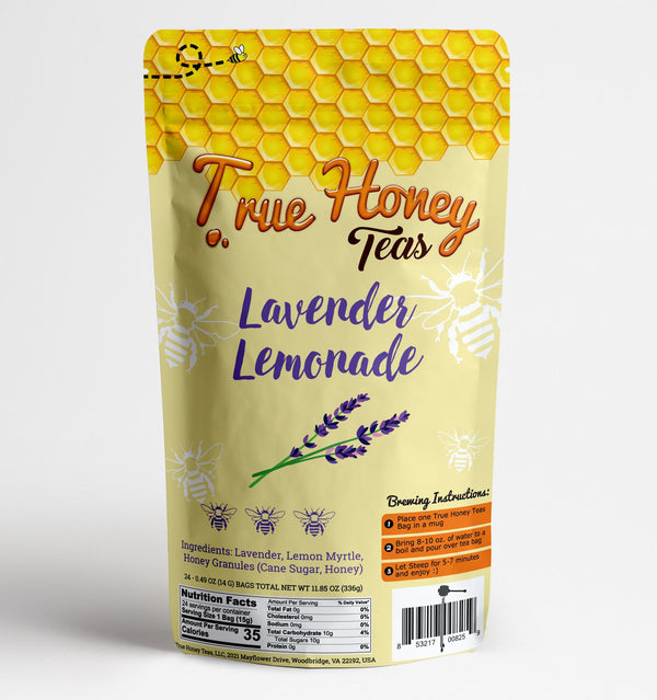 True Honey Teas Lavender Lemonade (12 ct) (Organic)
