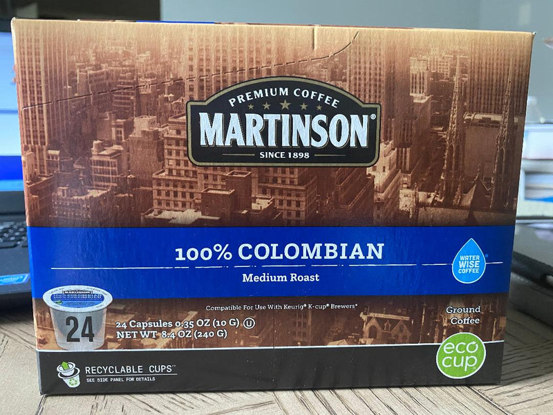 MARTINSON® 100% Colombian Coffee Pods (24 ct.)