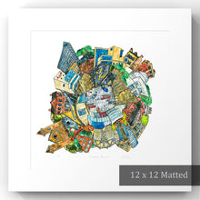 Load image into Gallery viewer, Toronto: Museums papercut art print