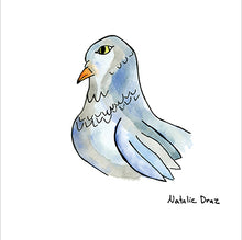 Load image into Gallery viewer, Grey Pigeon - ART PRINT