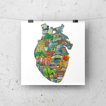 Load image into Gallery viewer, The Junction Heart - ART PRINT