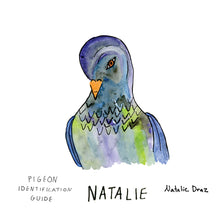 Load image into Gallery viewer, Natalie the Pigeon - MAGNET