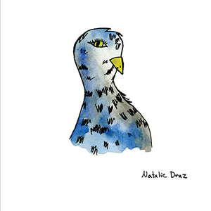 Blue Spotted Pigeon - ART PRINT