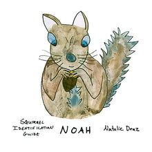 Load image into Gallery viewer, Noah the Brown Squirrel - MAGNET