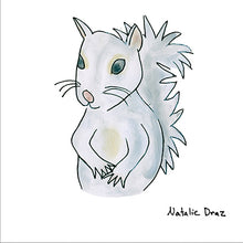 Load image into Gallery viewer, White Squirrel - ART PRINT