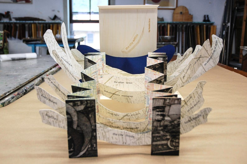 THE CITY WITHIN - ARTIST BOOK