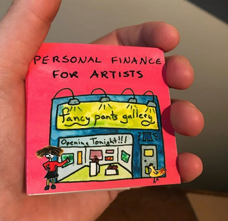 Personal Finance for Artists - TINY BOOK
