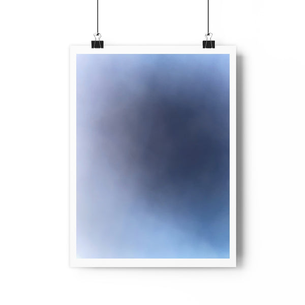 """Emanating Blue"" -- Giclée Art Print"