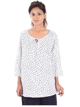 Load image into Gallery viewer, Rayon Staple Round Neck Medium Top