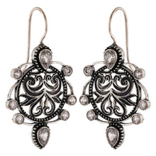 Load image into Gallery viewer, Generic Women's Brass Earrings (Silver, free Size)