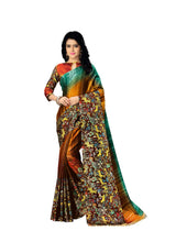 Load image into Gallery viewer, Generic Women's Handloom Cotton Soft Silk Saree (Multi, 5.5-6mtrs)