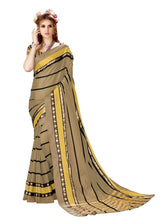Load image into Gallery viewer, Generic Women's Cotton Art Silk Saree With Blouse (Copper, 5-6 Mtrs)