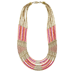 High Finished Multi Colour High Grade Beautiful Beads Necklace