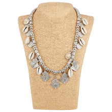 Load image into Gallery viewer, High Finished Shell Beads Silver Necklace