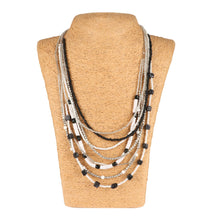 Load image into Gallery viewer, Designer Fashion Multi Layer Beads Necklace