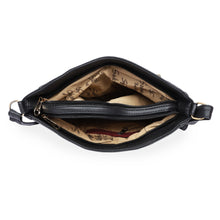 Load image into Gallery viewer, Generic Women's Faux Synthetic Leather Sling Bag (Black)