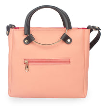 Load image into Gallery viewer, Generic Women's Faux Synthetic Leather Sling Bag (Peach)