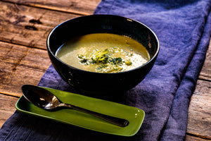 Cream of Broccoli Soup (V)