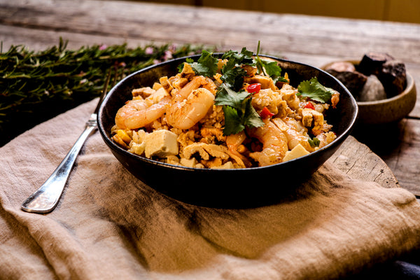 Fried Rice with Prawns (GF)