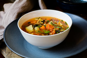 Minestrone Soup (Vegan)