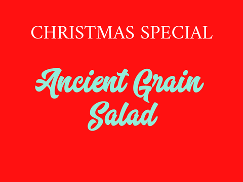 Ancient Grain Salad (V)