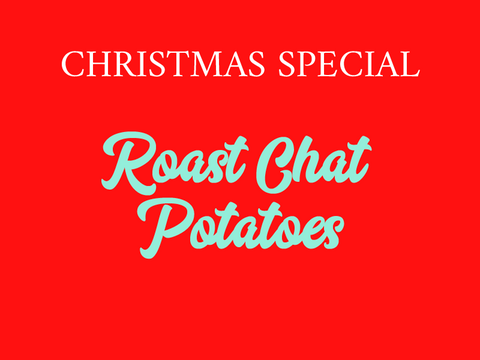 Roast Chat Potatoes (V)