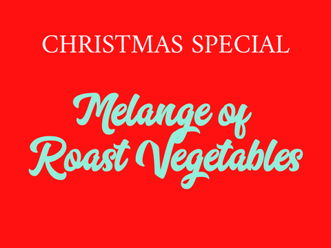Melange of Roast Vegetables (V)