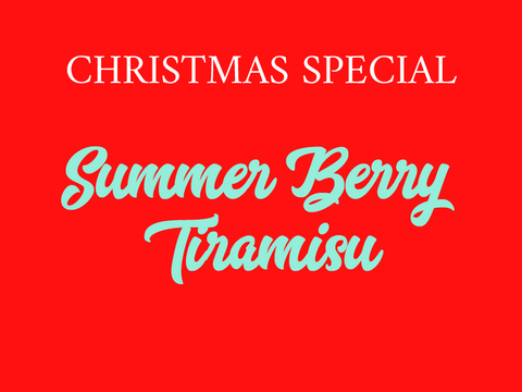 Summer Berry Tiramisu