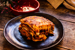 Roasted Vegetable Lasagne (V)