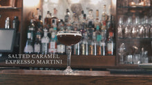 Load and play video in Gallery viewer, *SOLD OUT* SALTED CARAMEL ESPRESSO MARTINI (500ml, 5 serves)