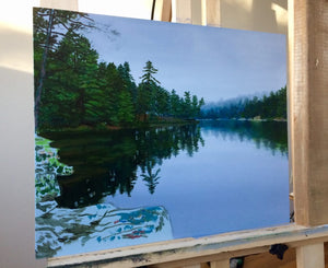 Opalescent Lake – Step by Step