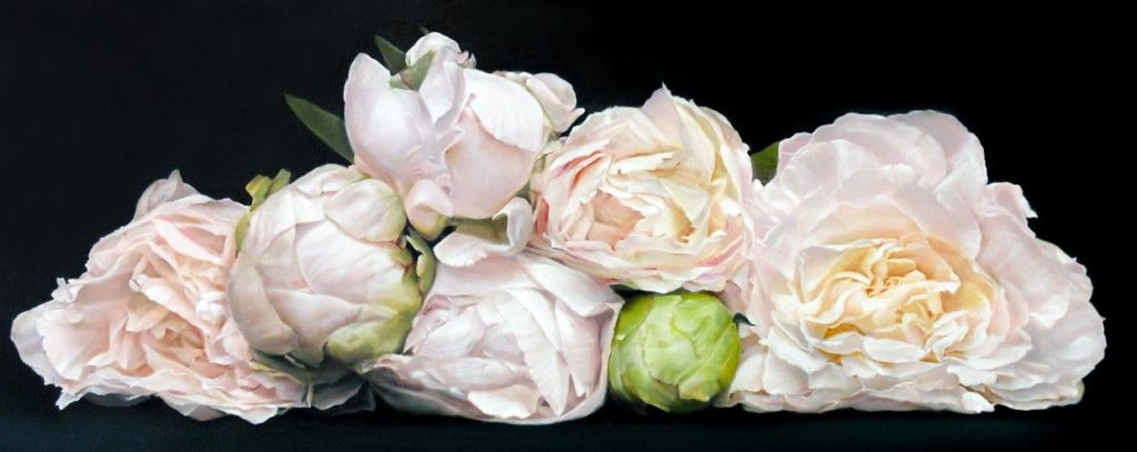 Mel's Peonies by Thomas Darnell