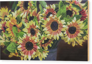 Helianthus - Wood Print