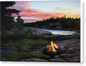 Home for the Night - Canvas Print