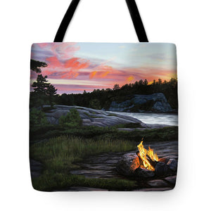 Home for the Night - Tote Bag