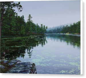 Opalescent Lake - Canvas Print