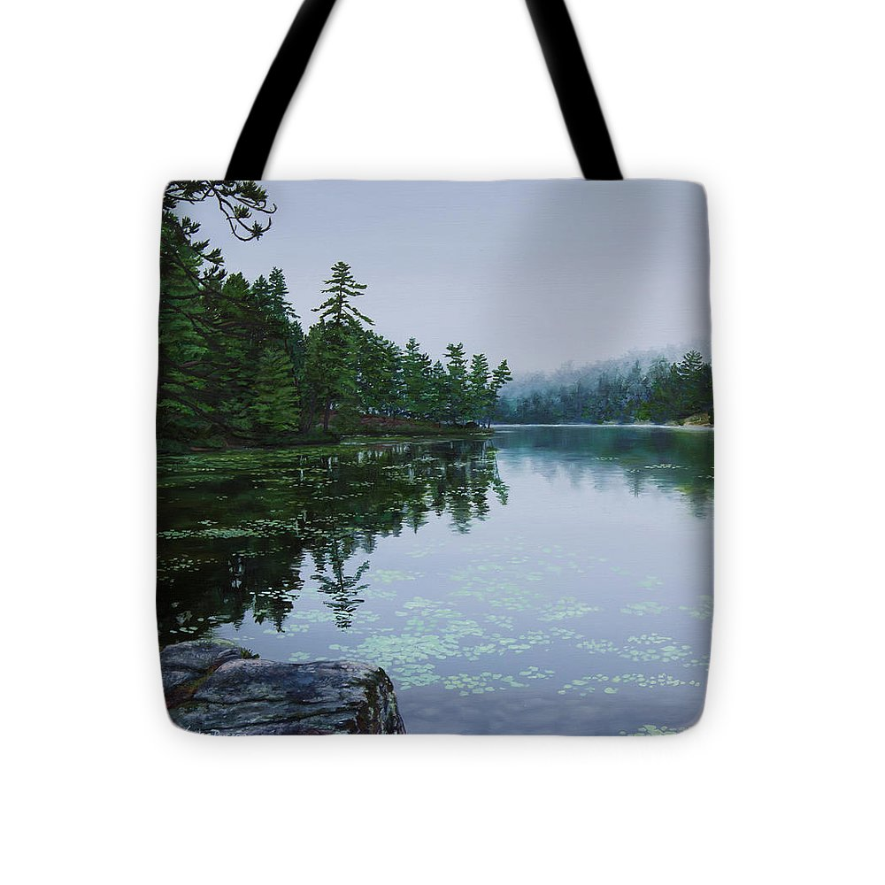 Opalescent Lake - Tote Bag