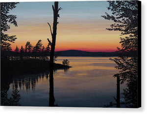Sarah's Sunset - Canvas Print