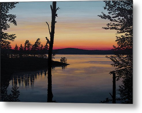 Sarah's Sunset - Metal Print