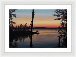 Sarah's Sunset - Framed Print