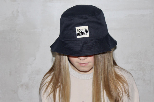 BUCKET HAT NAVY BLUE (6079800246424)