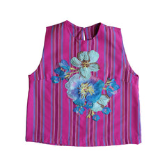 Kantarines Sleeveless Top (Fuchsia)