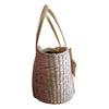 """Blair"" Bow Woven Tote"