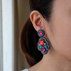 """Moana"" Multicolor Earrings"